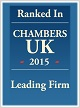 Chambers UK 2015 - Leading Firm